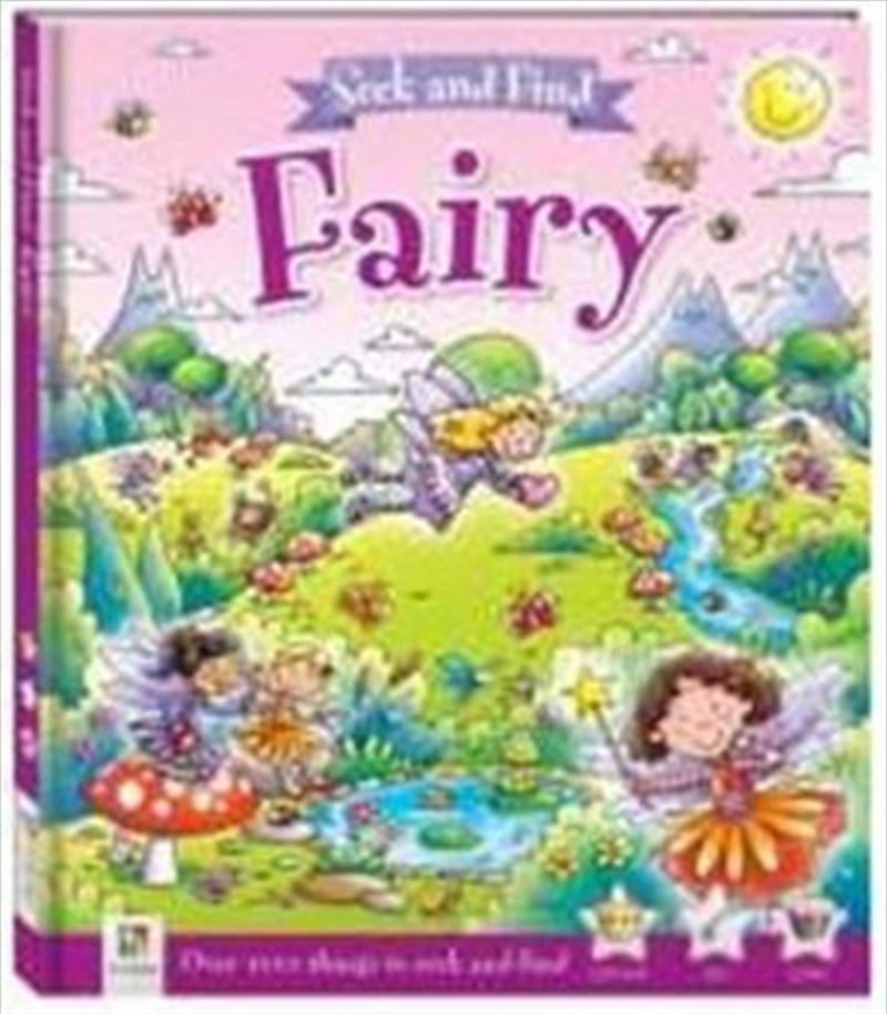 Seek And Find Fairy | Hardback Book