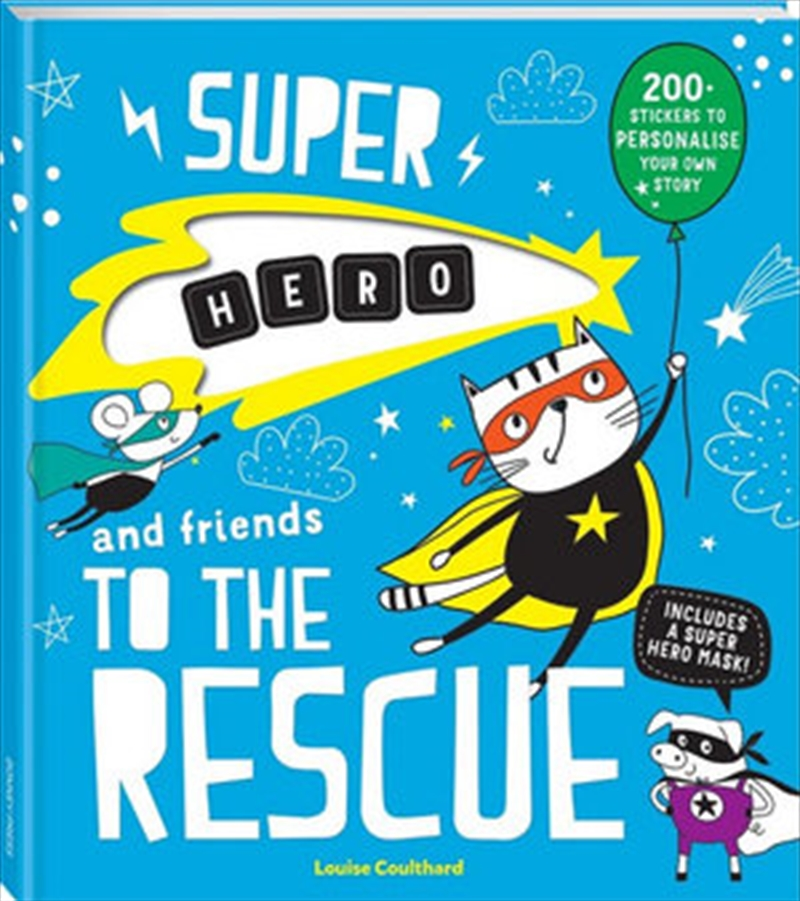 Super Name And Friends To   Hardback Book