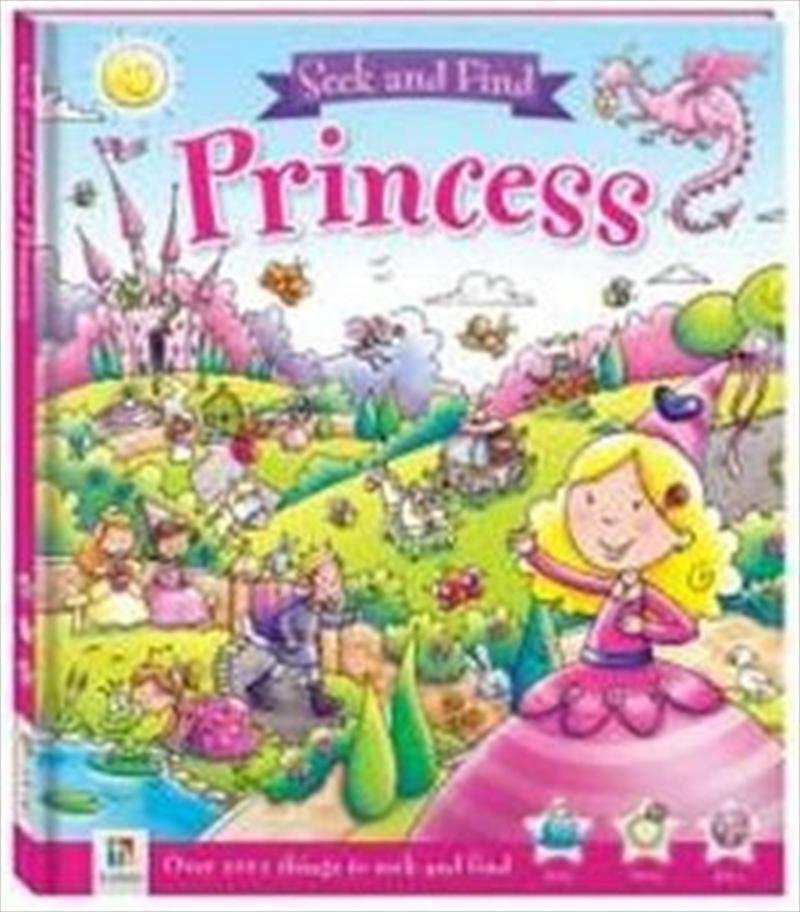 Seek And Find Princess   Hardback Book