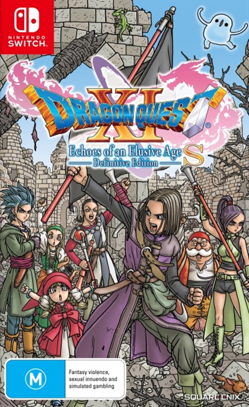 Dragon Quest XI Echoes of an Elusive Age S Definitive Edition | Nintendo Switch