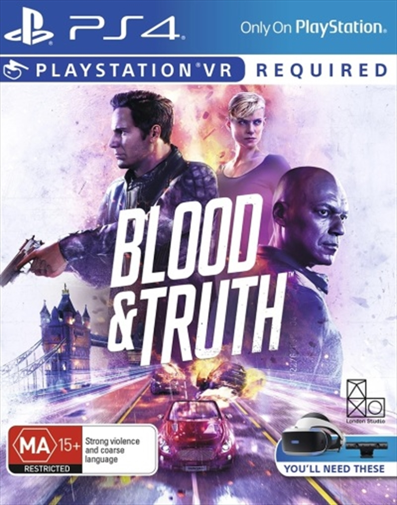 Blood And Truth Psvr | PlayStation 4