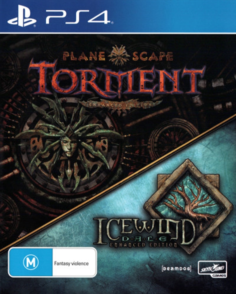 Planescape Torment and Icewind Dale Enhanced Edition   PlayStation 4