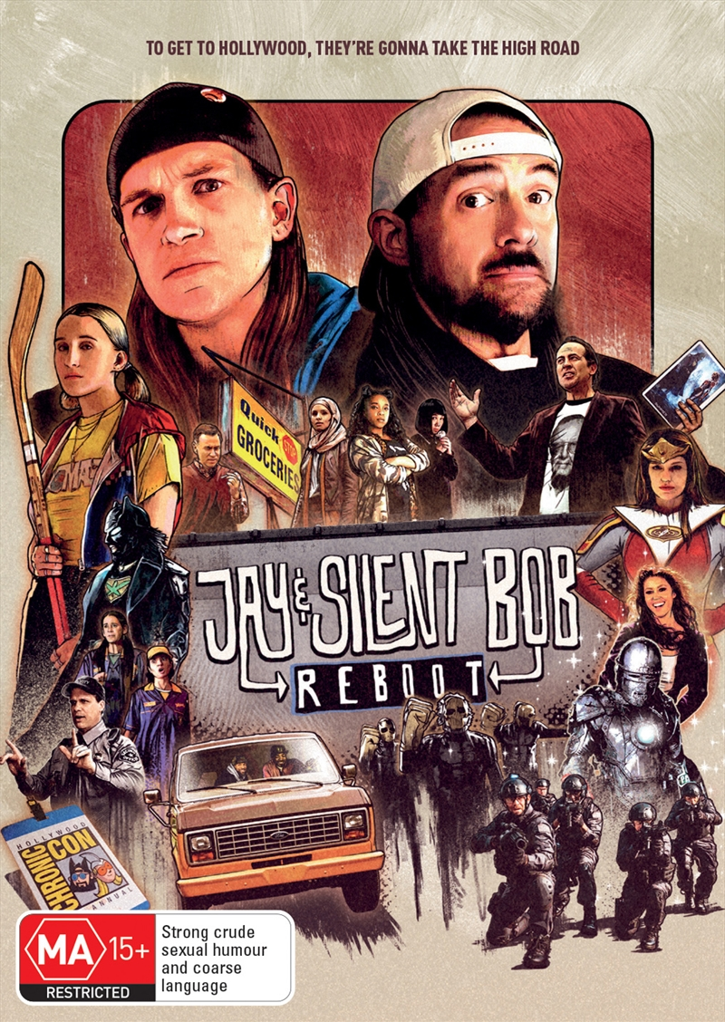 Jay And Silent Bob - The Reboot (SANITY EXCLUSIVE) | DVD