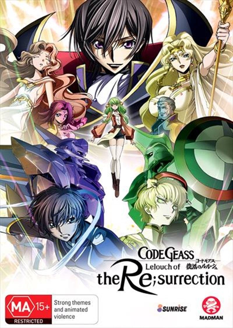 Code Geass - Lelouch Of The Re;surrection | DVD