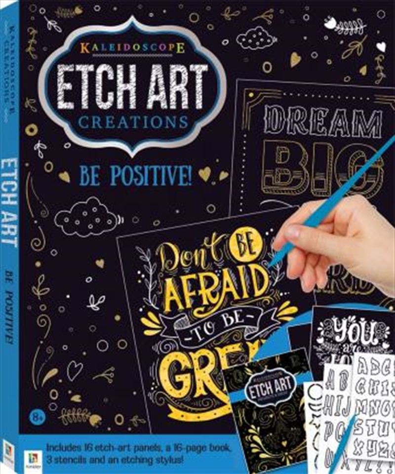 Etch Art Creations Kit: Be Positive! 2020 Edition | Books