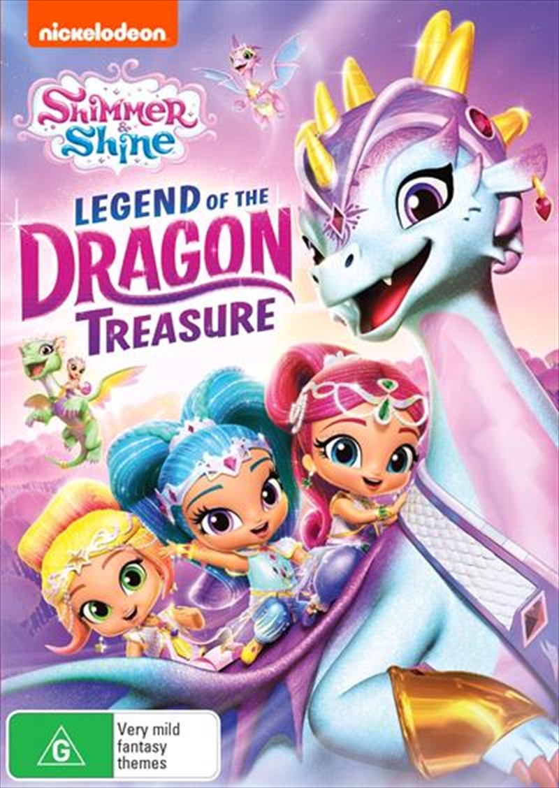 Shimmer And Shine - Legend Of The Dragon Treasure | DVD