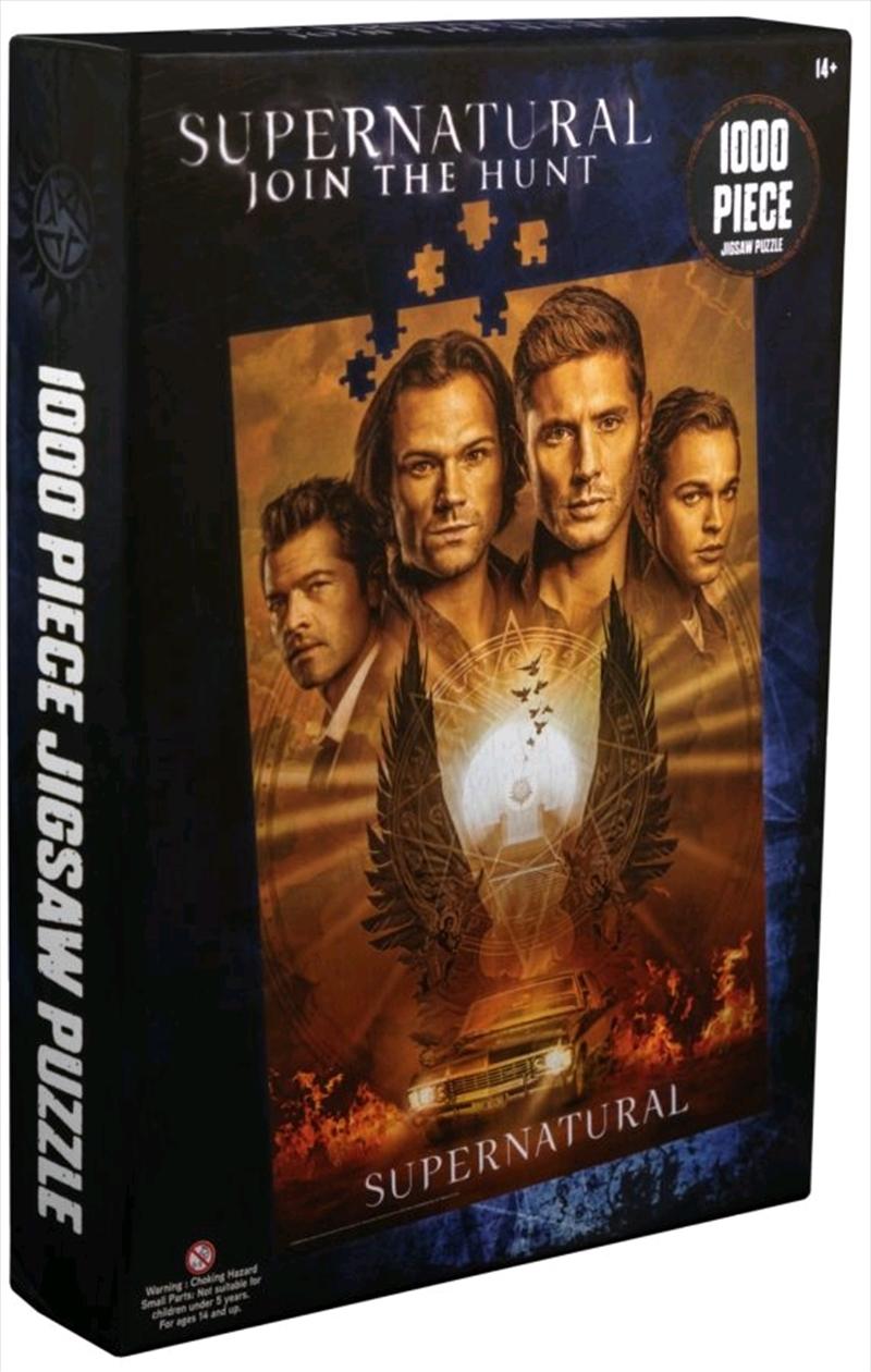 Supernatural - Poster 1000 Piece Jigsaw Puzzle   Merchandise