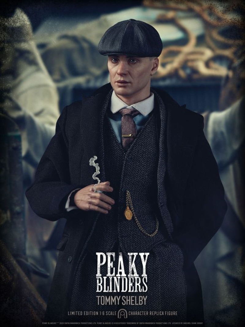 "Peaky Blinders - Tommy Shelby 1:6 Scale 12"" Action Figure 