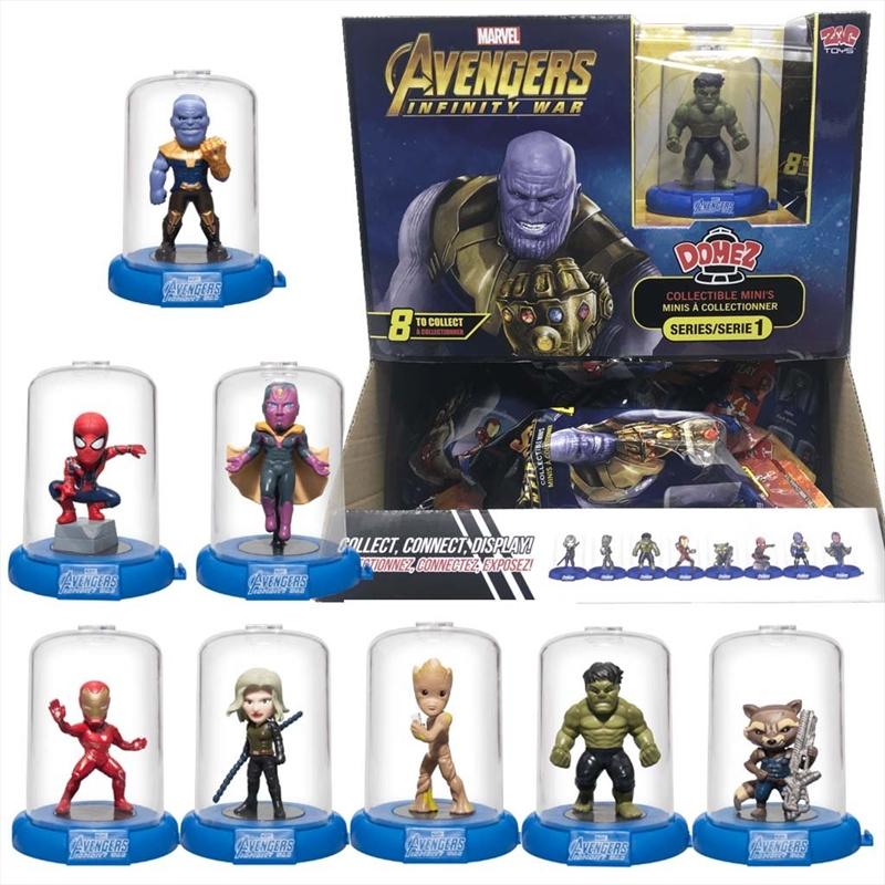 DOMEZ Marvel Avengers Infinity War Series 1 (Random Select) | Merchandise