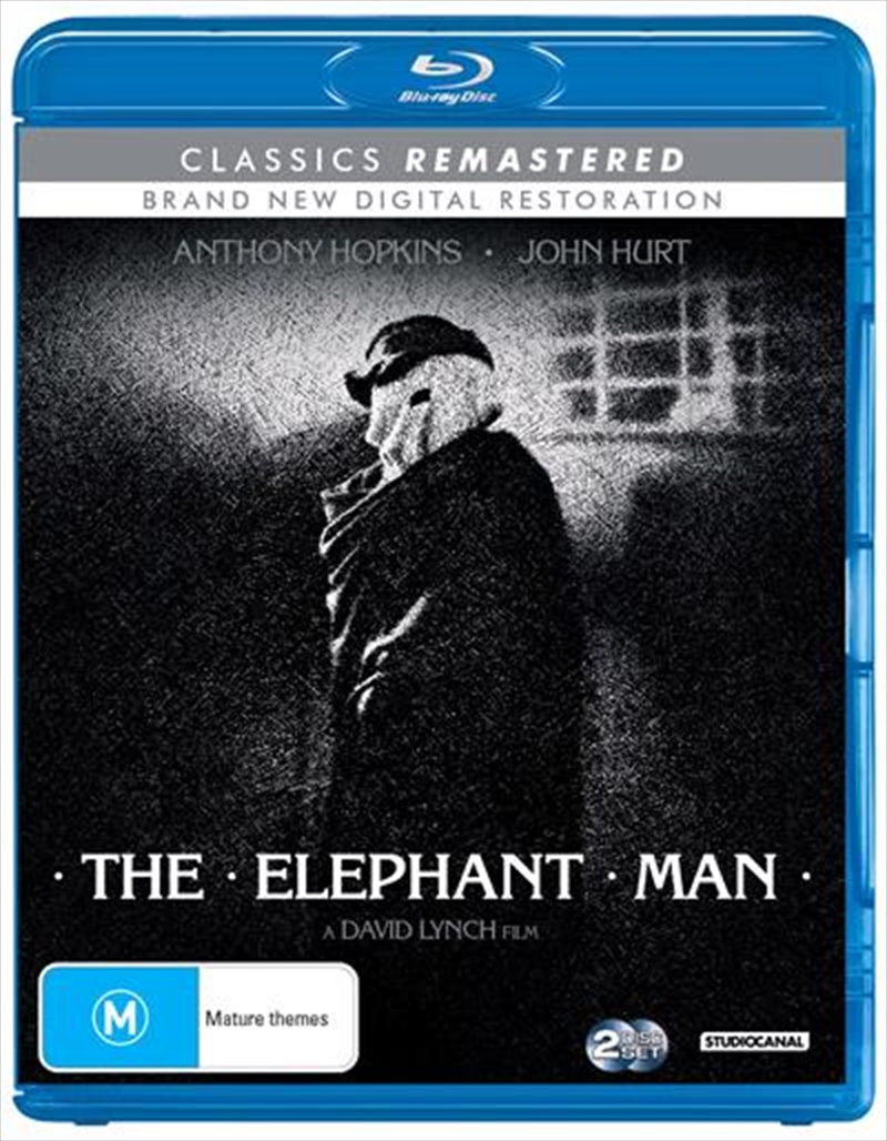 Elephant Man   Classics Remastered, The   Blu-ray
