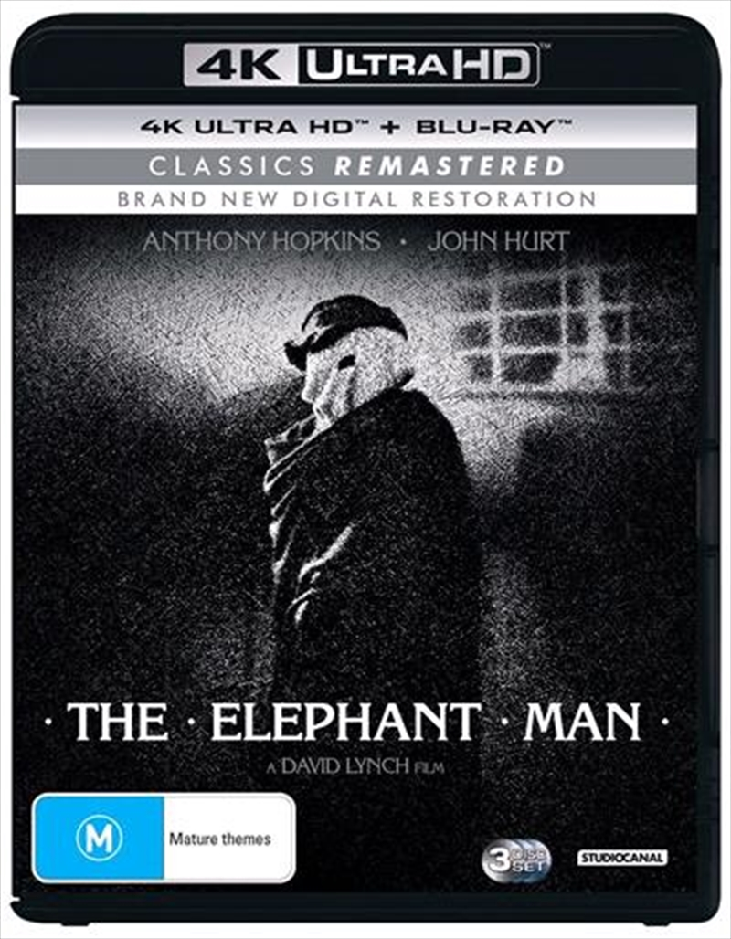 Elephant Man | Blu-ray + UHD - Classics Remastered, The | UHD