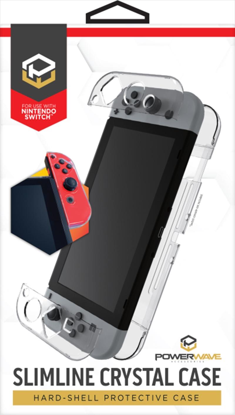 Powerwave Switch Slimline Crystal Case | Nintendo Switch