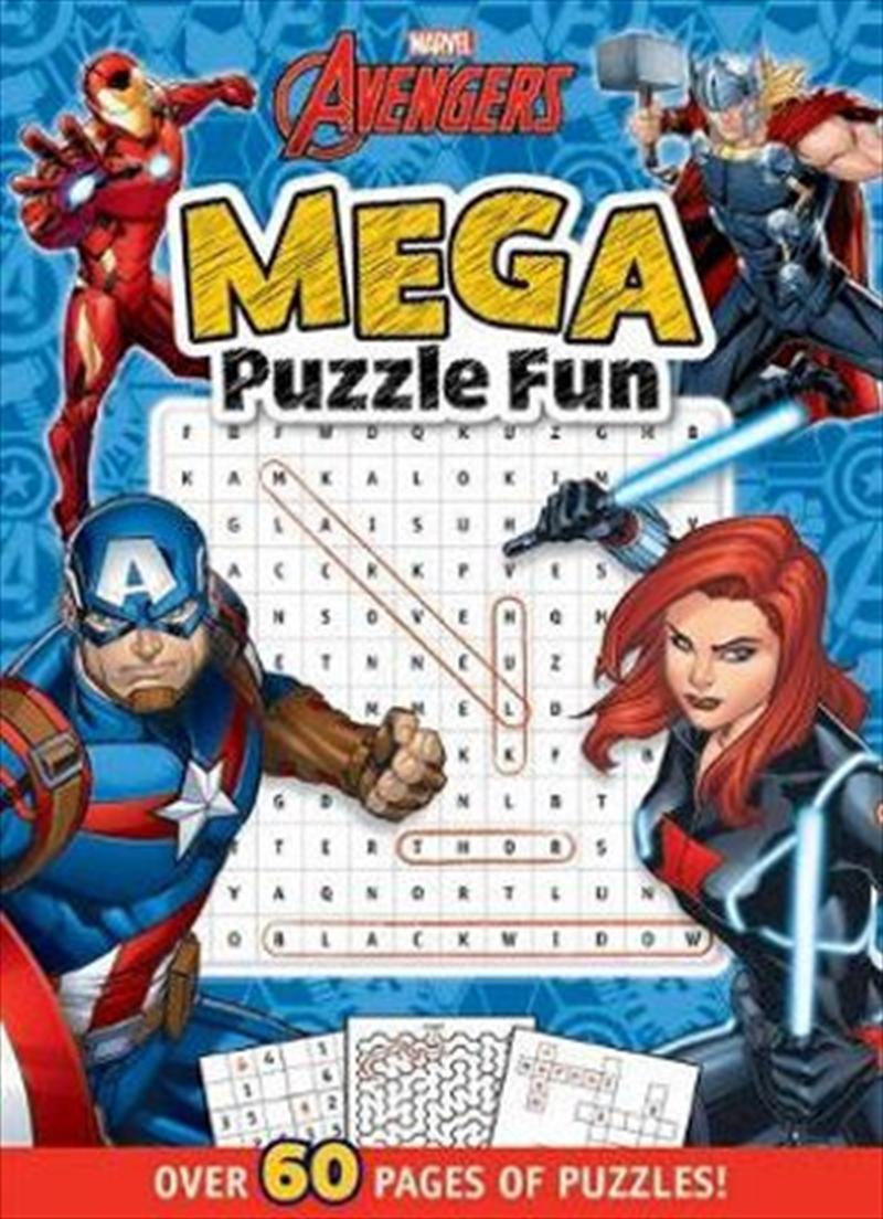 Avengers : Mega Puzzle Fun Marvel | Hardback Book