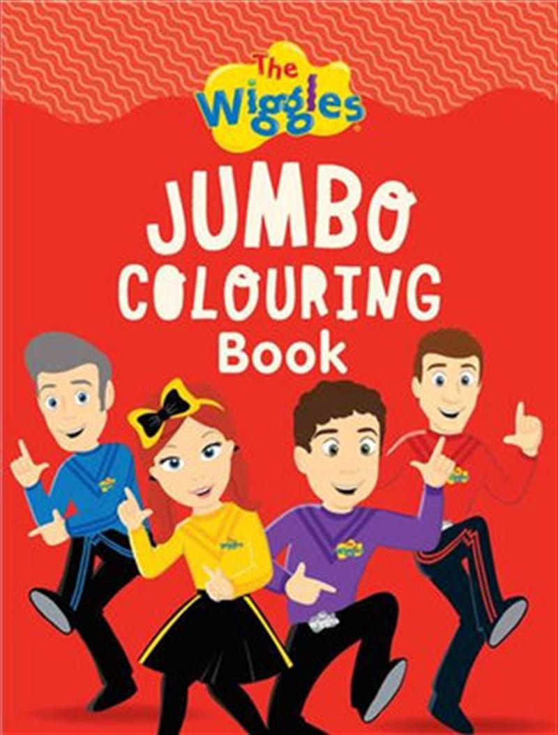 Jumbo Colouring Book | Paperback Book
