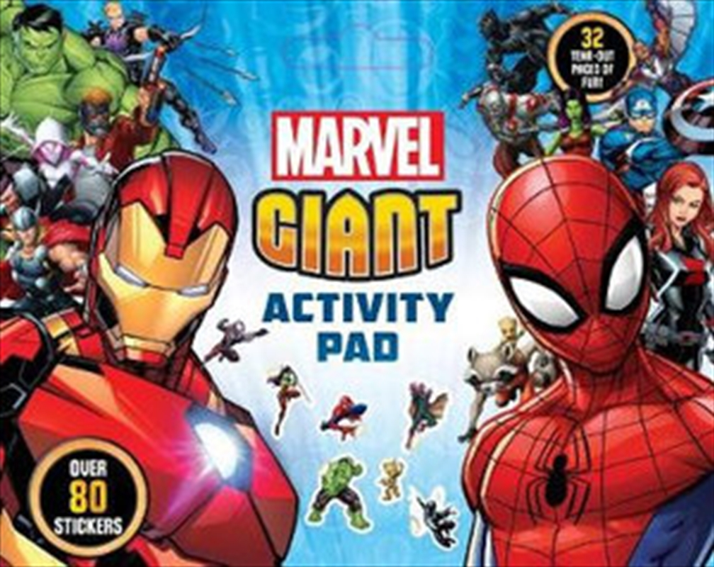 Marvel: Giant Activity Pad | Paperback Book