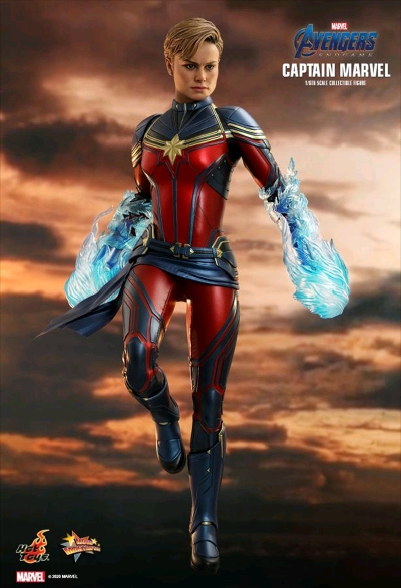 "Avengers 4: Endgame - Captain Marvel 1:6 Scale 12"" Action Figure   Merchandise"