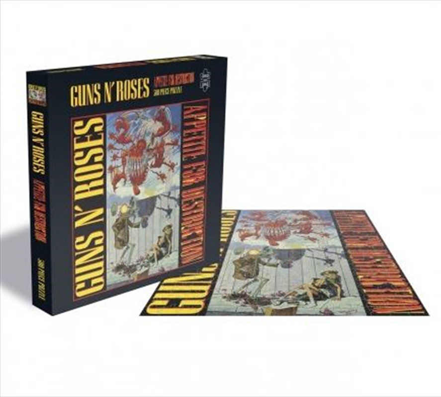 Guns N' Roses – Appetite For Destruction 1 500 Piece Puzzle | Merchandise