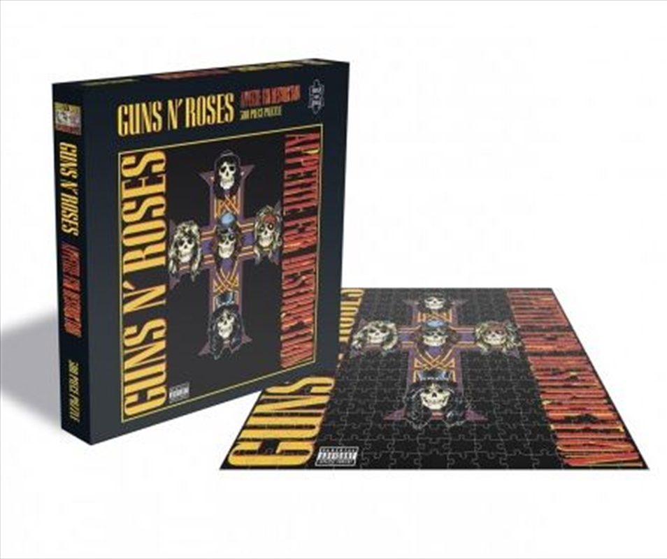 Guns N' Roses – Appetite For Destruction 2 500 Piece Puzzle | Merchandise