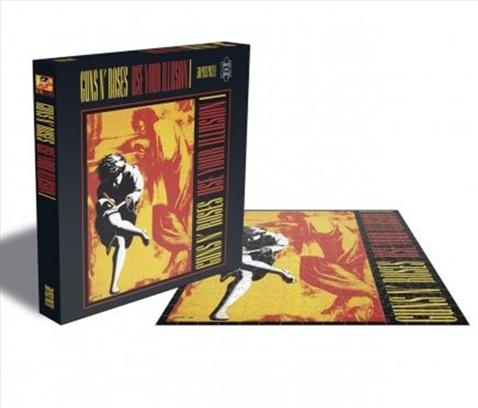 Guns N' Roses – Use Your Illusion 1 500 Piece Puzzle | Merchandise
