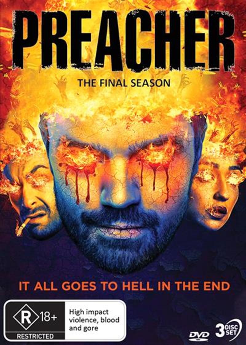 Preacher - Season 4   DVD