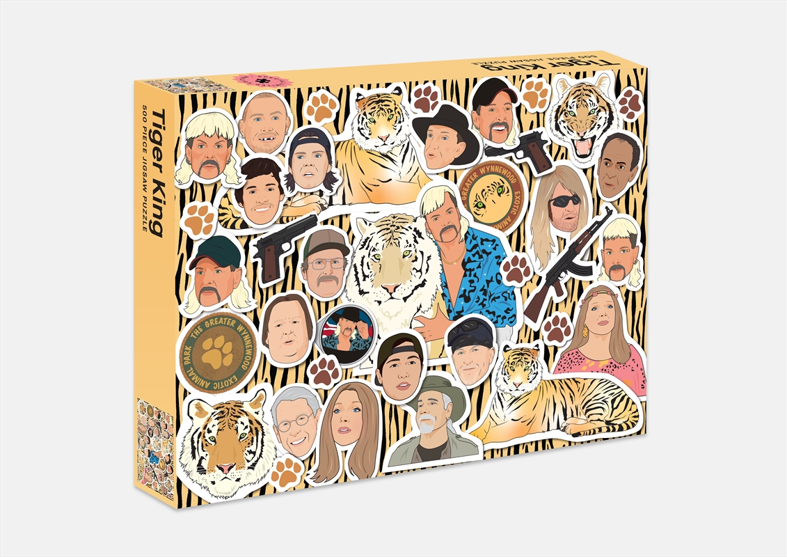 Tiger King 500 Piece Puzzle | Merchandise