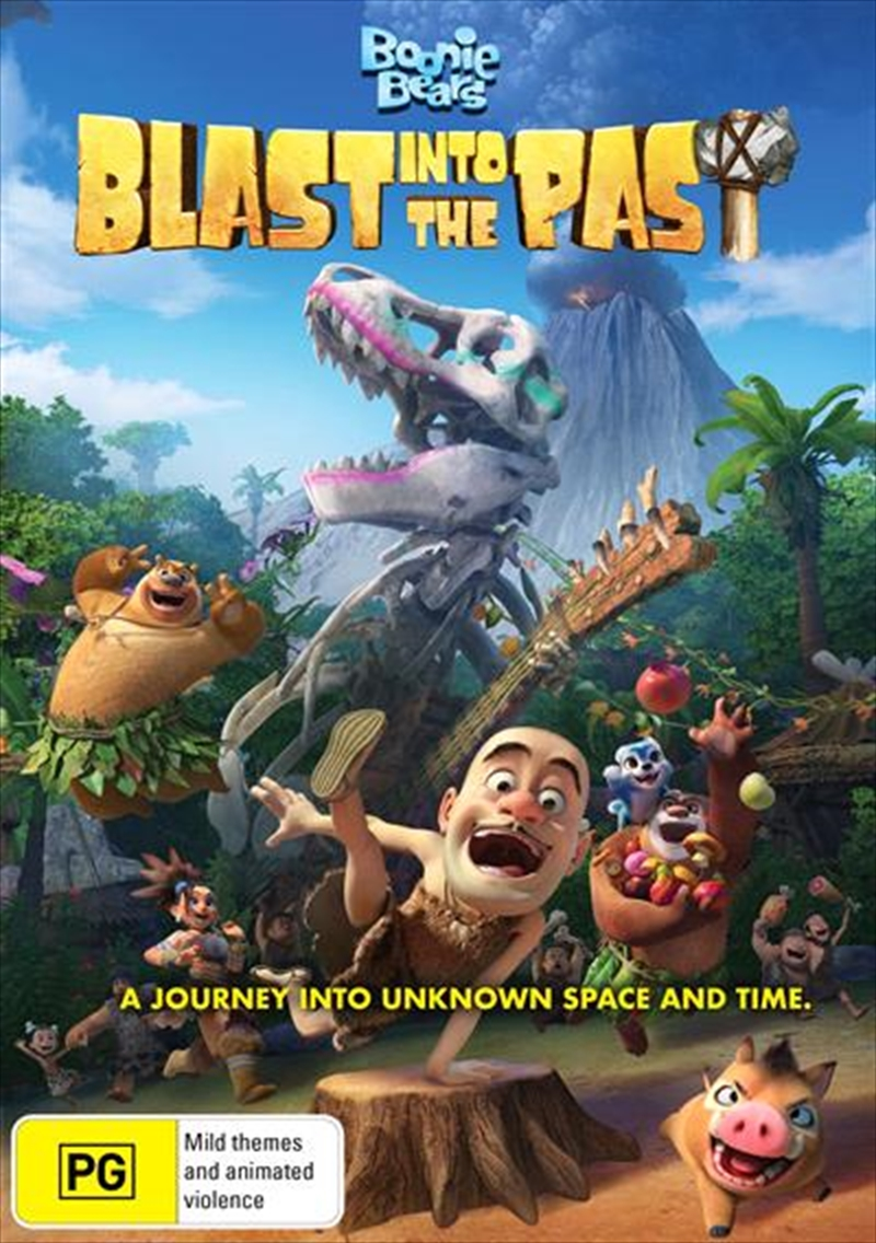 Boonie Bears - Blast Into The Past | DVD