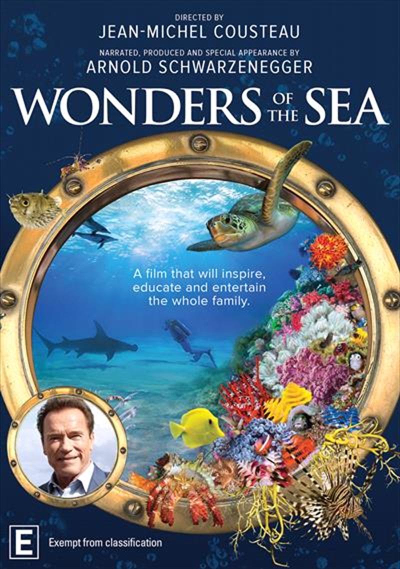 Wonders Of The Sea   DVD