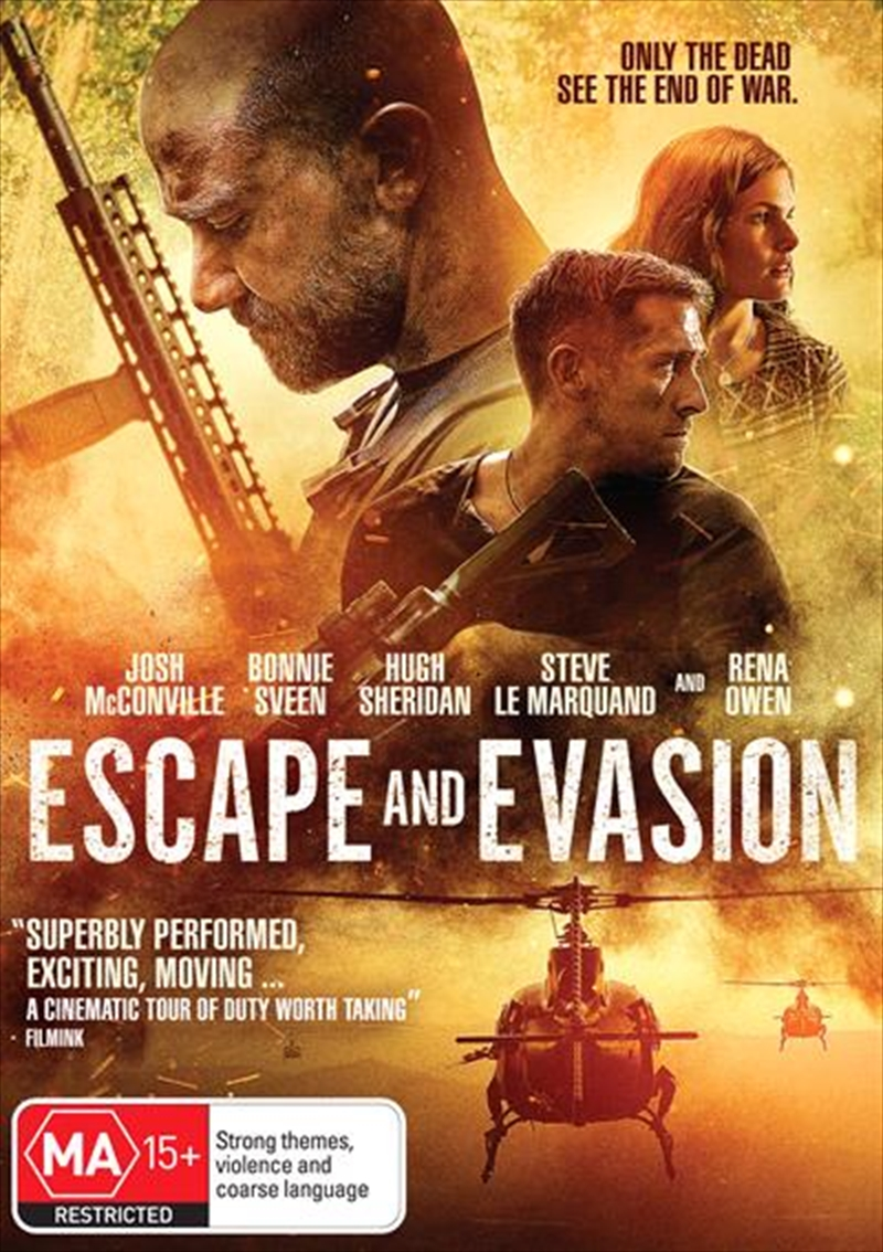 Escape And Evasion | DVD