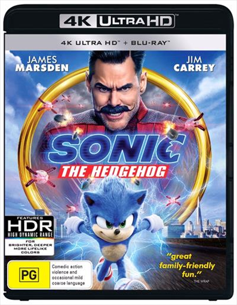 Sonic The Hedgehog - Limited Edition | Blu-ray + UHD | UHD
