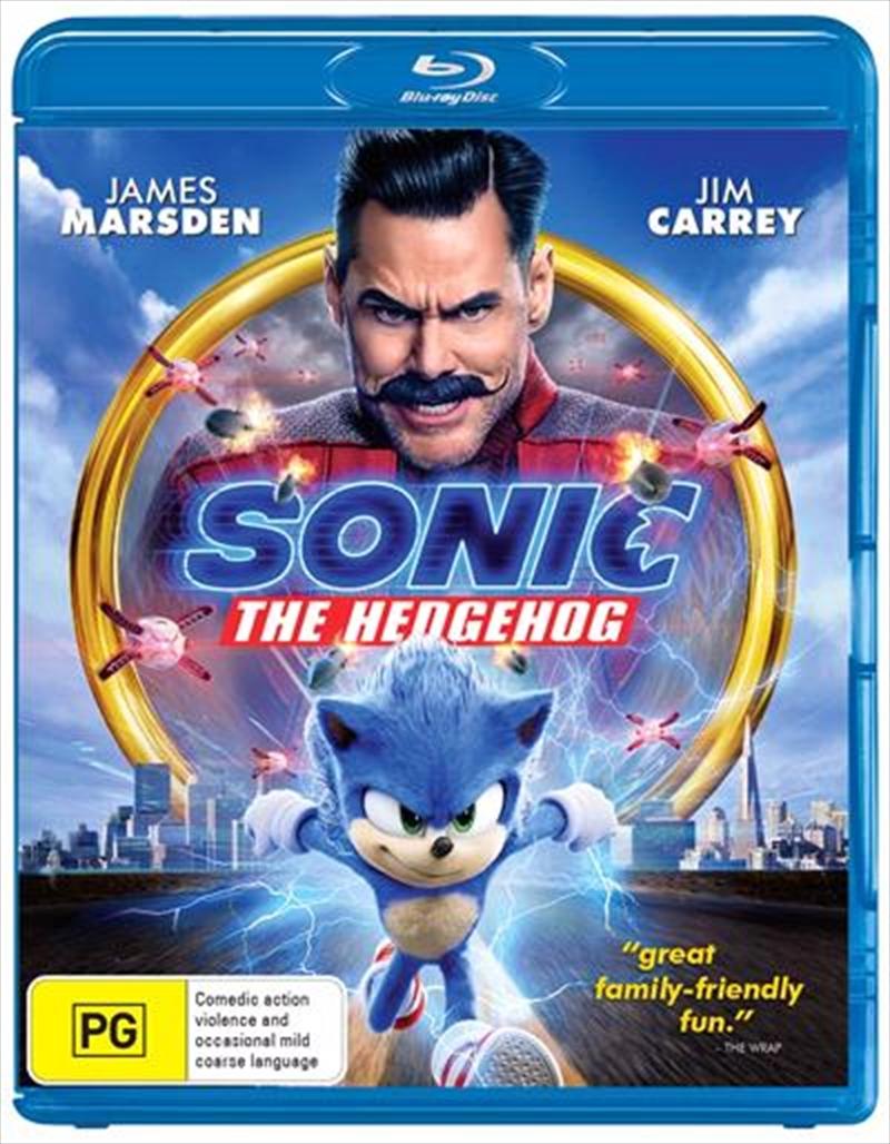 Sonic The Hedgehog | Blu-ray