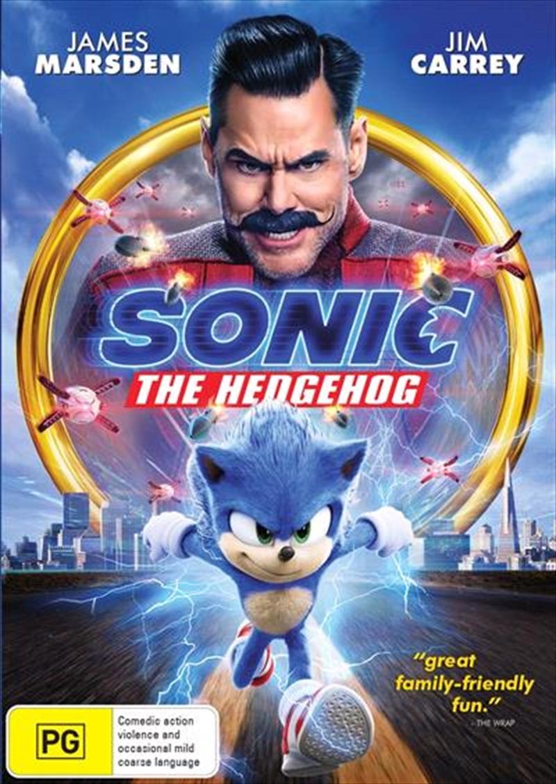 Sonic The Hedgehog | DVD