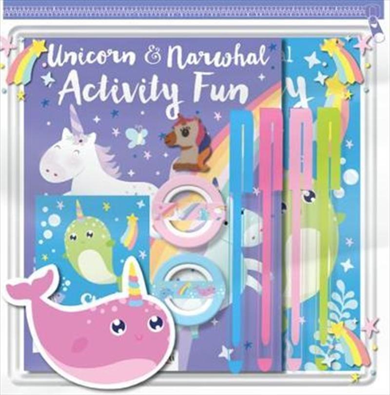 Pencil Case: Unicorns Narwhals Pack | Merchandise