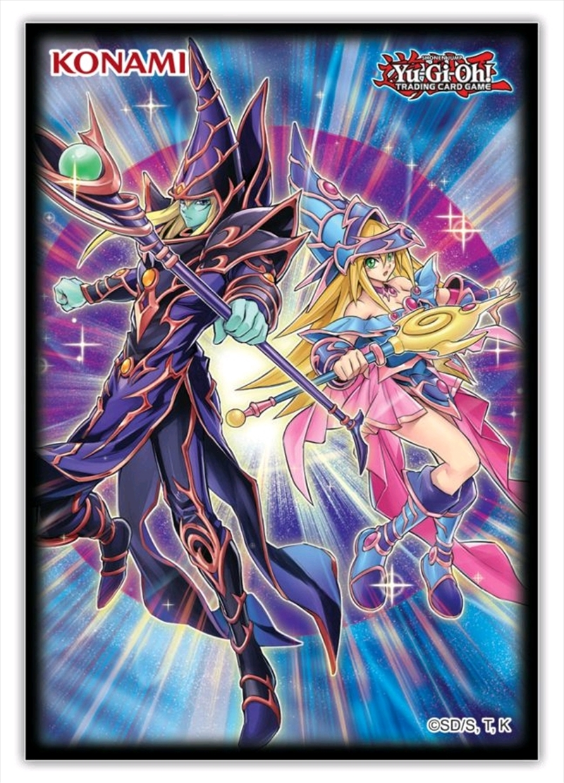 Yu-Gi-Oh! - Dark Magicians Card Sleeves 50ct | Merchandise
