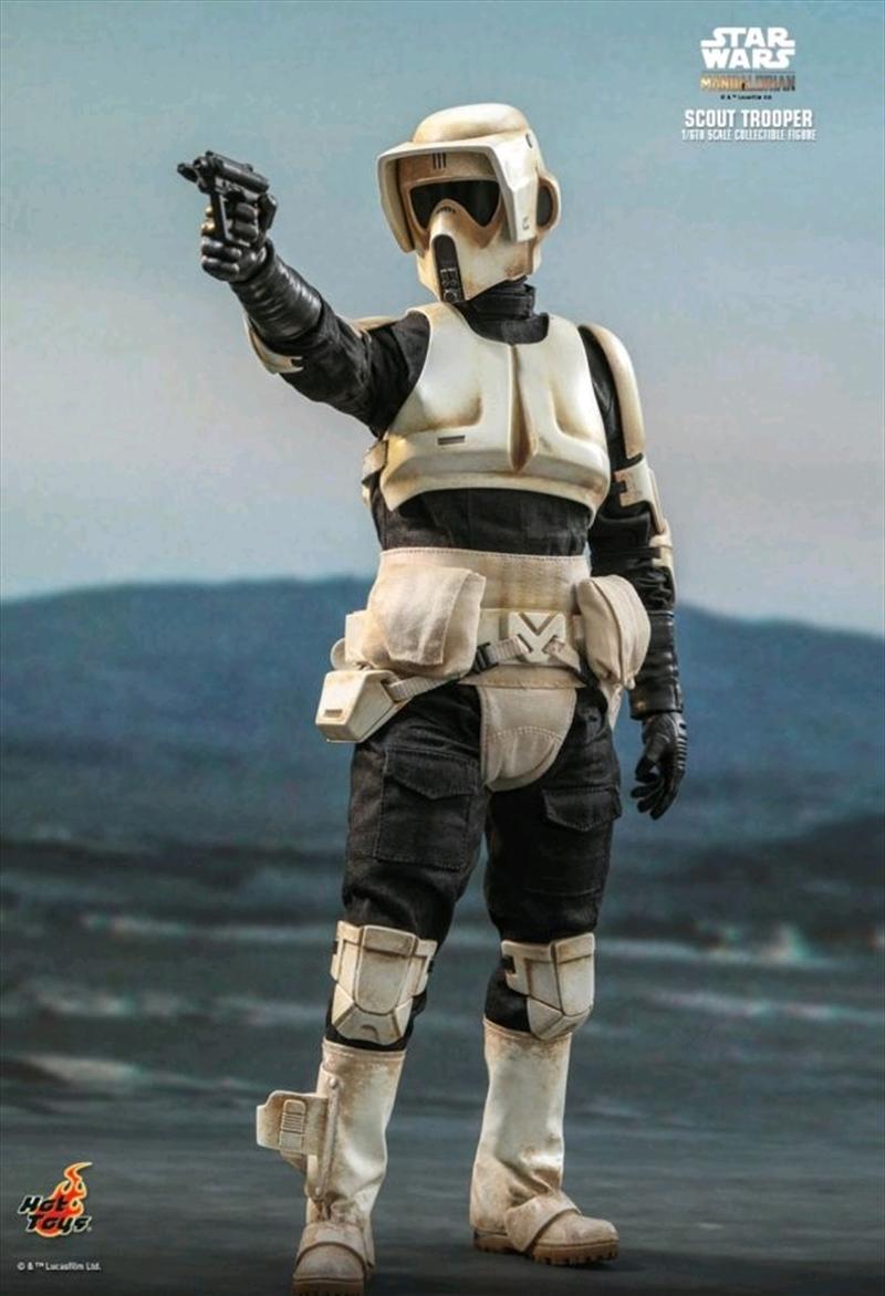 Star Wars: The Mandalorian - Scout Trooper 1:6 Scale Action Figure | Merchandise