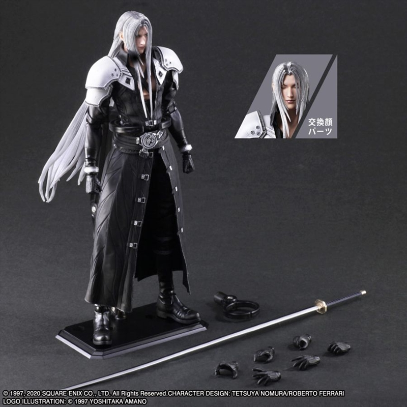 Final Fantasy VII - Sephiroth Play Arts Action Figure | Merchandise