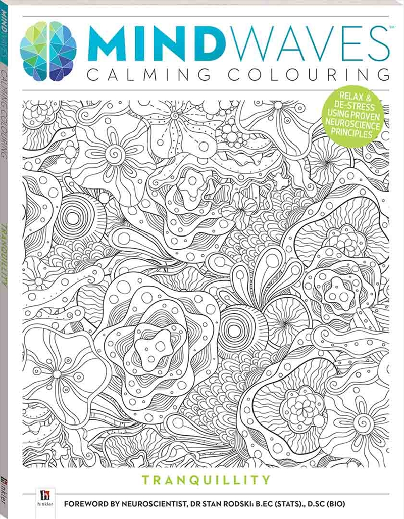 Tranquillity | Colouring Book