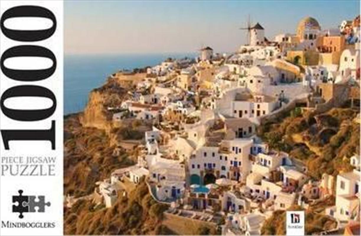 Santorini The Greek Islands 1000 Piece Jigsaw Puzzle | Merchandise