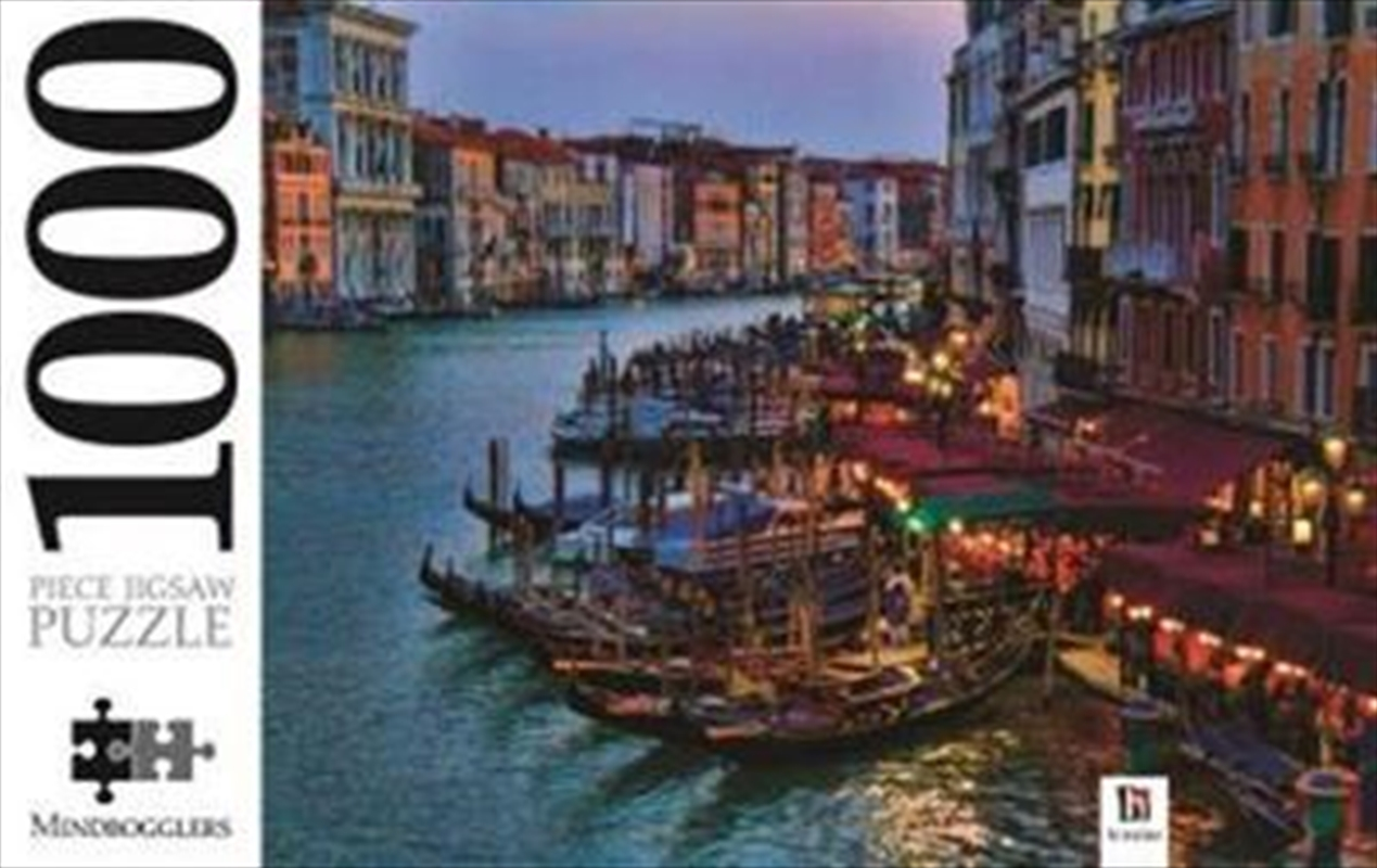 Gondolas And Grand Canal Italy 1000 Piece Puzzle | Merchandise