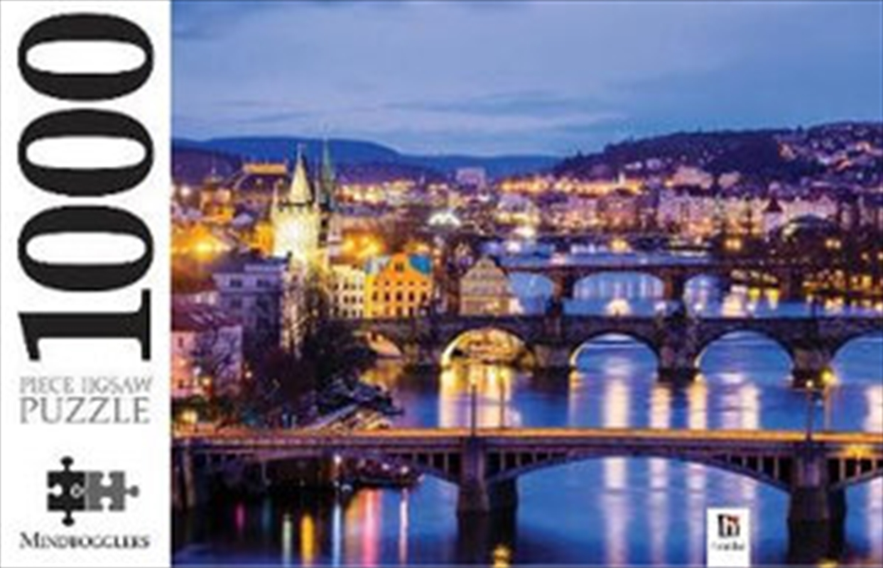 Vitava River Prague 1000 Piece Puzzle   Merchandise
