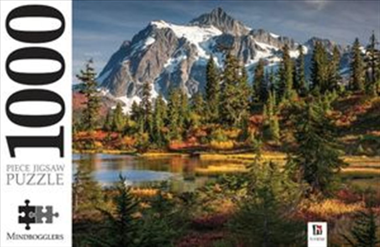 Mount Shuksan and Picture Lake Washington, USA 1000 Piece Jigsaw Puzzle | Merchandise
