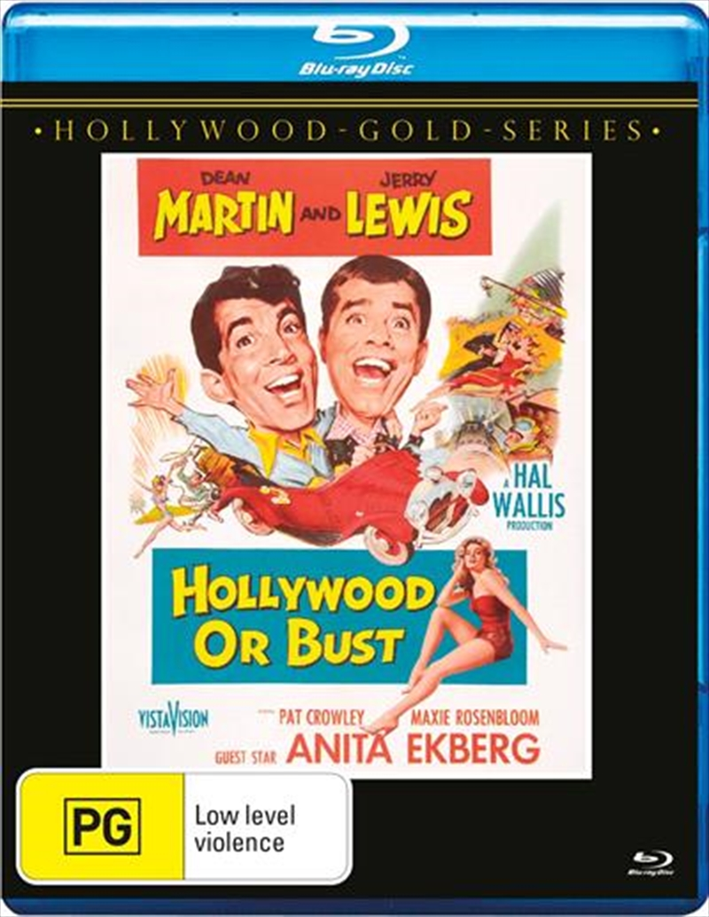 Hollywood Or Bust | Blu-ray