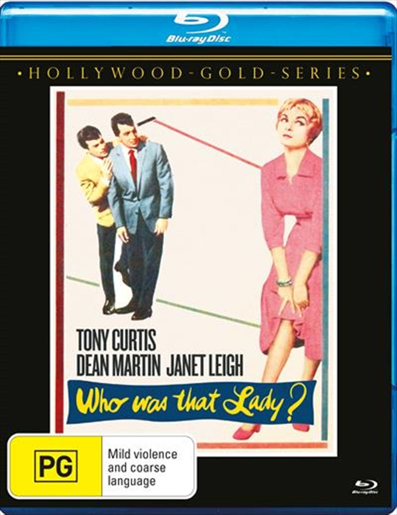 Who Was That Lady?   Blu-ray