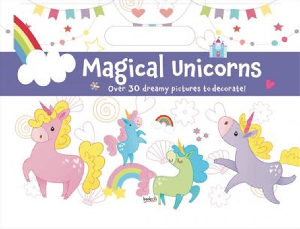Holiday Fun Pad Magical Unicorns | Paperback Book