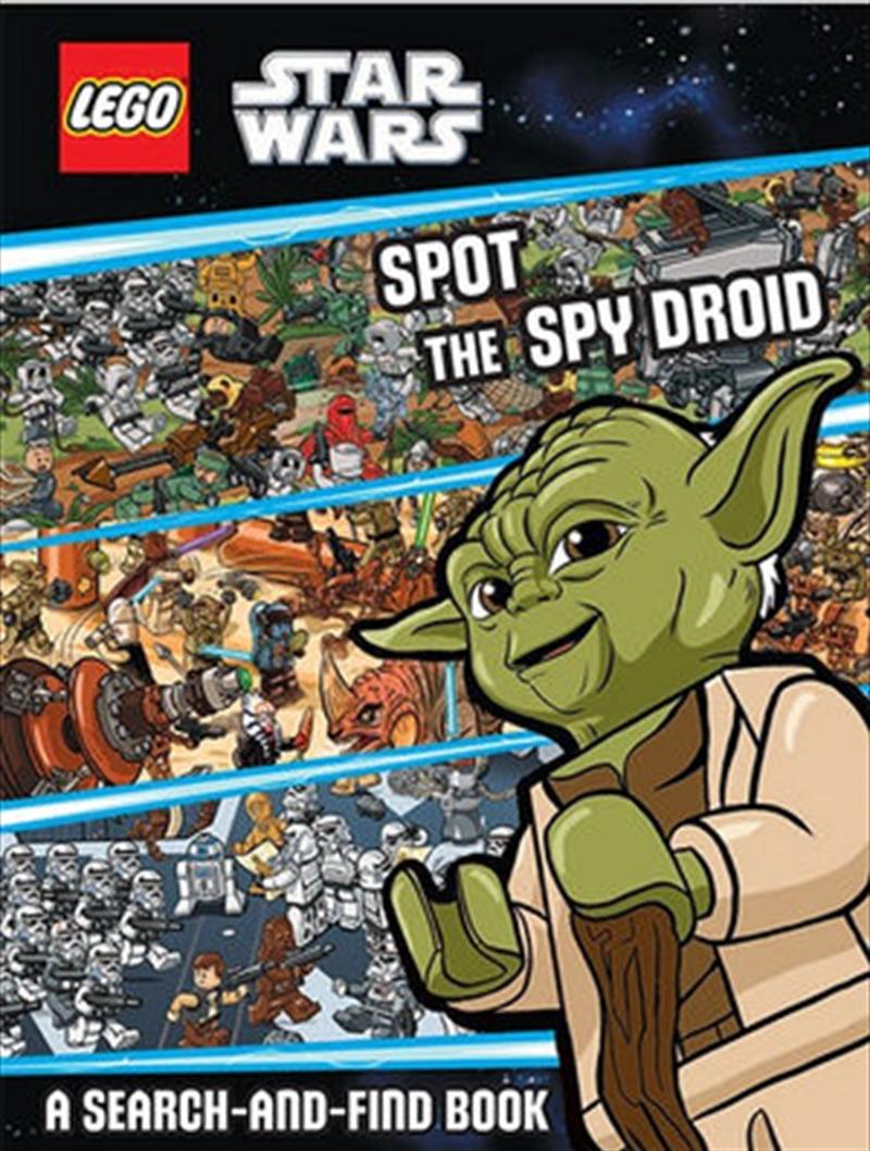 Star Wars: Spot The Spy Droid - LEGO   Hardback Book