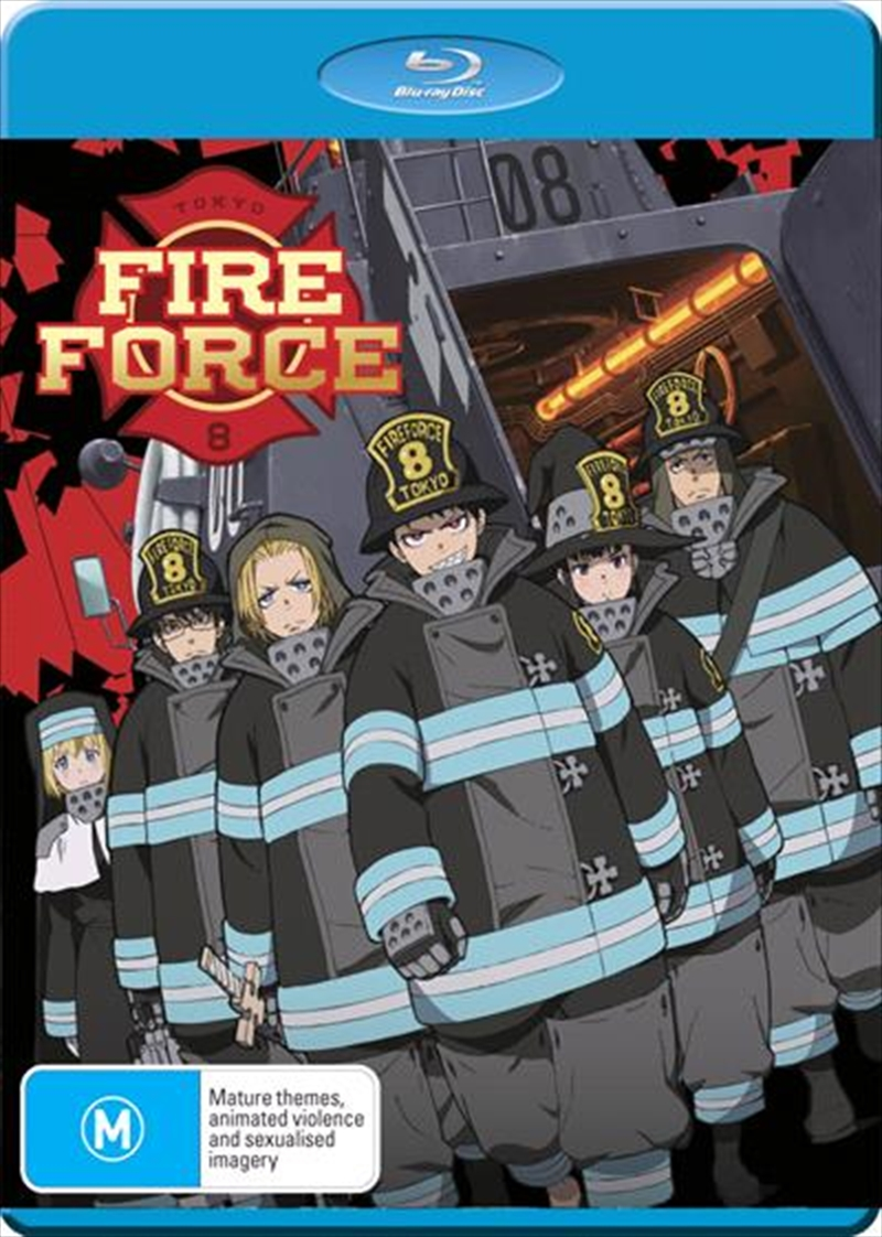 Fire Force - Season 1 - Part 1 | Blu-ray