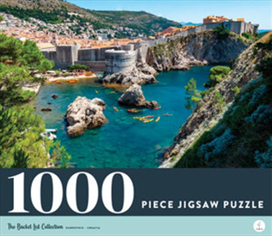 Dubrovnik - Croatia 1000 Piece Jigsaw Puzzle   Merchandise