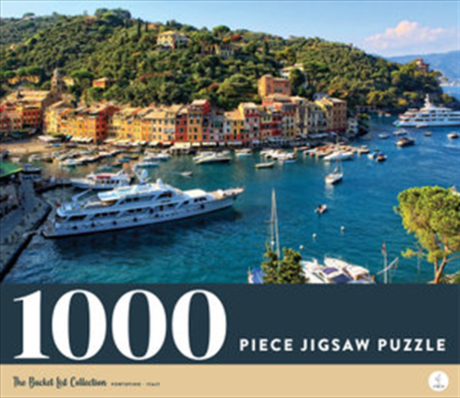 Portofino - Italy 1000 Piece Jigsaw Puzzle | Merchandise