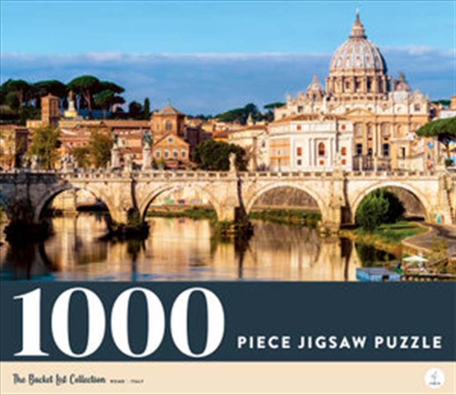 Rome - Italy 1000 Piece Jigsaw Puzzle | Merchandise