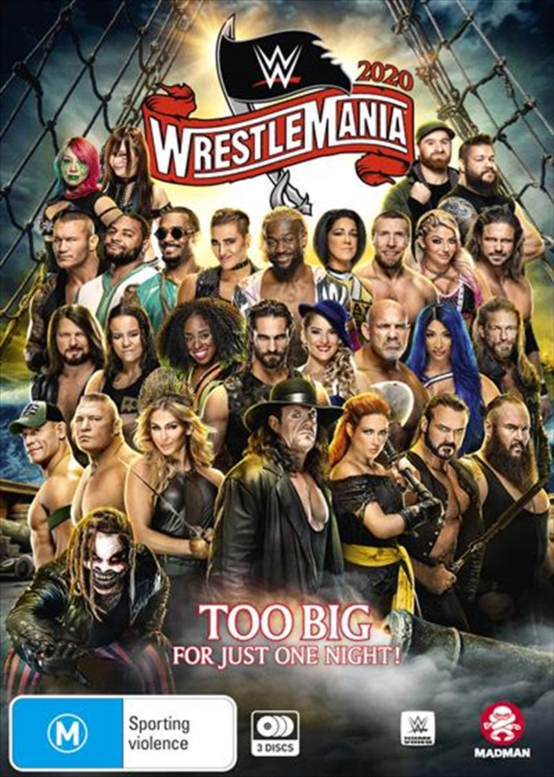 WWE - Wrestle Mania XXXVI | DVD