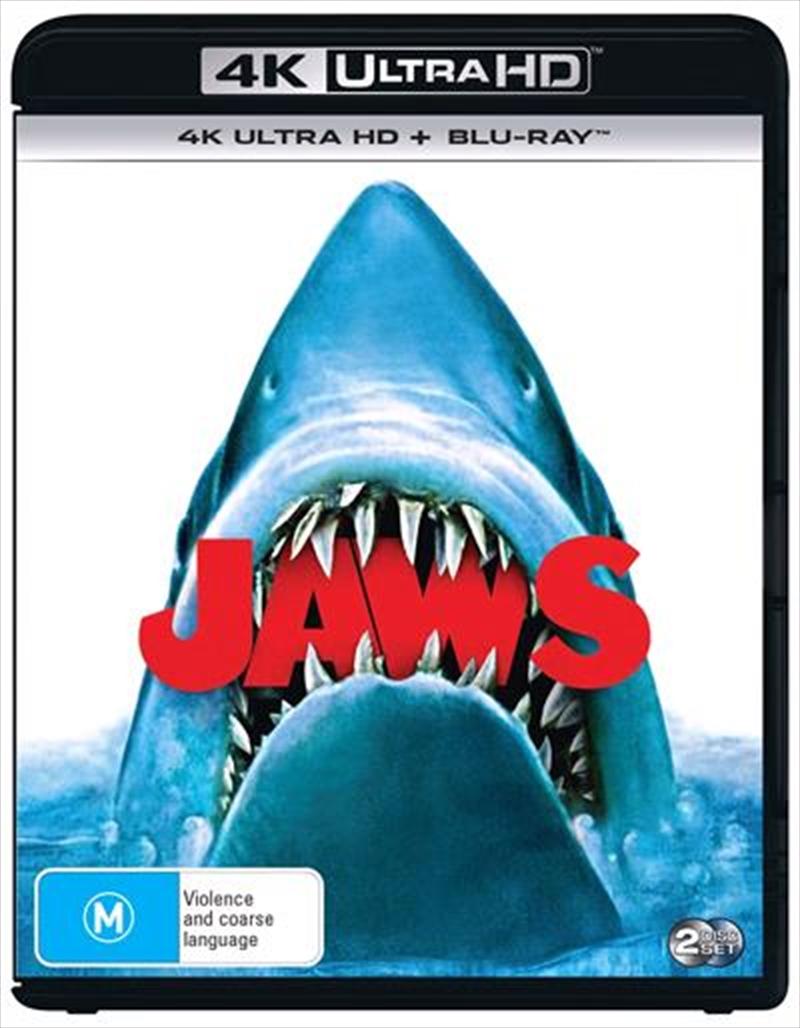 Jaws   Blu-ray + UHD   UHD